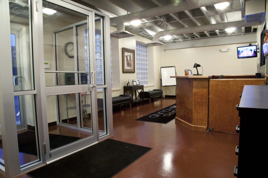 The Board Hound Shirlington: Front Desk
